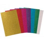 Glitter Paper A4 20pc