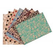 Decorative Velvet Paper A4 (40 Pieces)