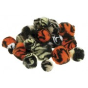 Pom Poms Animal Print (Pack of 100)