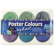 Paint Block - Cool (Set of 6)