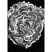 Scratch Art Paper A4 White 50p