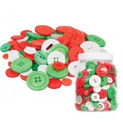 Christmas Buttons 600gm