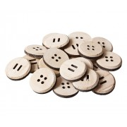 Large Wooden Buttons 25s