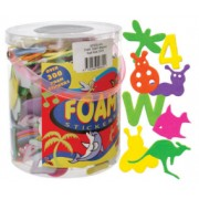 Foam Shapes Adhesive 300pk