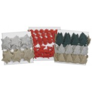 Adhesive Christmas Decorations