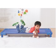 Stacking Toddler Cot Aluminium