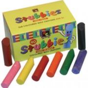 Crayons Stubbie Asstd 40pk