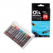 Oil Pastels Assorted SML 12pk