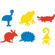 Stencil Aussie Animals (Pack of 6)