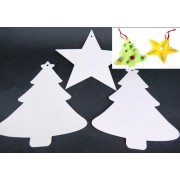 Paper Shapes Xmas Tree & Stars