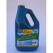Radical Cascade Washable Pre-School Paint - Turquoise (2 Litres)