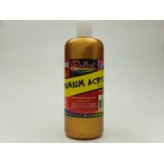 Metallic Acrylic Gold 500ml