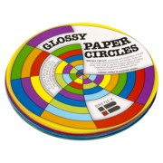 Kinder Paper Circles Fluoro 120mm