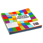 Kinder Paper Squares - Fluoro (Pack of 100)