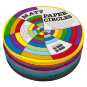 Kinder Paper Circles Matt 180mm (Pack of 500)