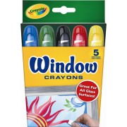 Crayola Window Crayons 5pk
