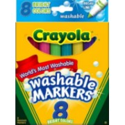 Crayola Washable Markers (Pack of 8)