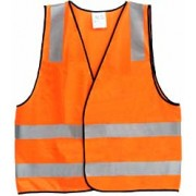 Safety Vest -Reflective Orange Medium