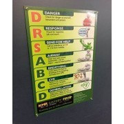 DRSABCD Fridge Magnet