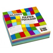 Kinder Paper Squares Glossy 127x127mm
