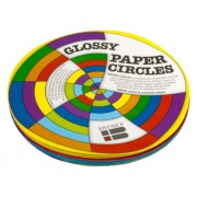 Kinder Paper Circles Fluoro 180mm