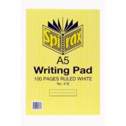 Notepad A5 Ruled 10pk