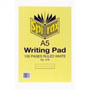 Notepad A5 Ruled 10pk