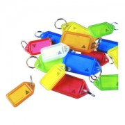 Key Tags Assorted Colours (Pack of 50)