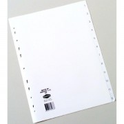 Dividers A4 1-12 Tab White