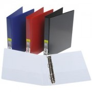 3 Ring 25mm A4 Coloured Binder