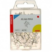 Push Pins - Clear 50pk