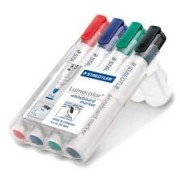 Whiteboard Markers- 4 Colours