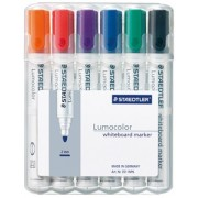 Whiteboard Markers -6 Colours