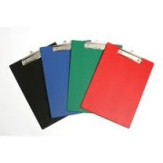 Clipboard PVC A4 Black