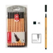 Stabilo Point 88 - Black (Pack of 10)