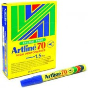 Artline 90 Perm - Blue Each