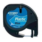 Dymo Letratag Blue 12mmx4mt