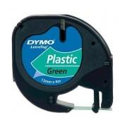 Dymo Letratag Green 12mmx4mt