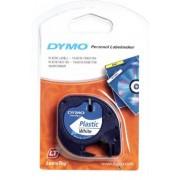 Dymo Letratag - PVC B/W