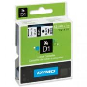 Dymo Tape 12mm x 7mt B/W