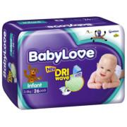 Babylove Infant 3-8Kg (Pack of 90)