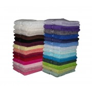 Face Washers Assorted Colours