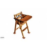Hardwood Baby High Chair