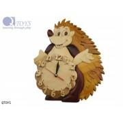 Echidna Wooden Clock