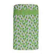 Compact Cot Sheet - Green