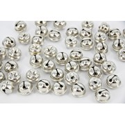 Bells Jingle Silver 15mm 50 Pack