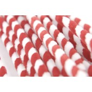 Chenille Stems - Christmas Candy Canes (Pack of 25)