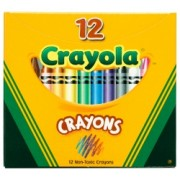 Crayola Regular Wax Crayons (Pack of 12)