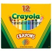 Crayola Regular Wax Crayons (Pack of 12)