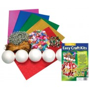 Christmas Balls Easy Craft Kit